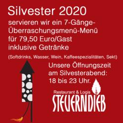 Silvester Im Steuerndieb 2020